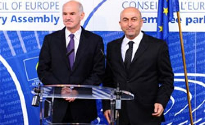 PACE's Turkish president meets Greek PM in General Assembly