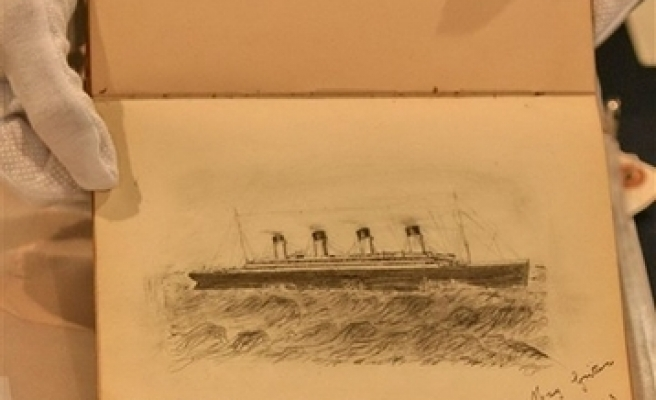 Titanic artifacts go to auction