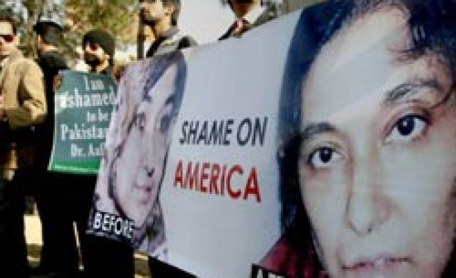 US ruling on scientist woman triggers Pakistan protests / PHOTO