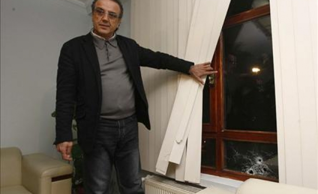 Turkey's new BDP party HQ attacked / PHOTO