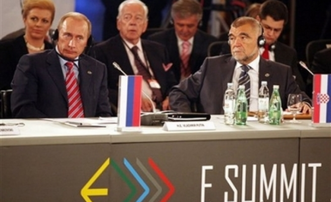 Putin arrives in Zagreb for energy Summit