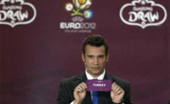 Rivals of Turkey determined for UEFA Euro 2012