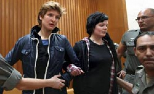 Anti-wall woman activists released on bail in Israel