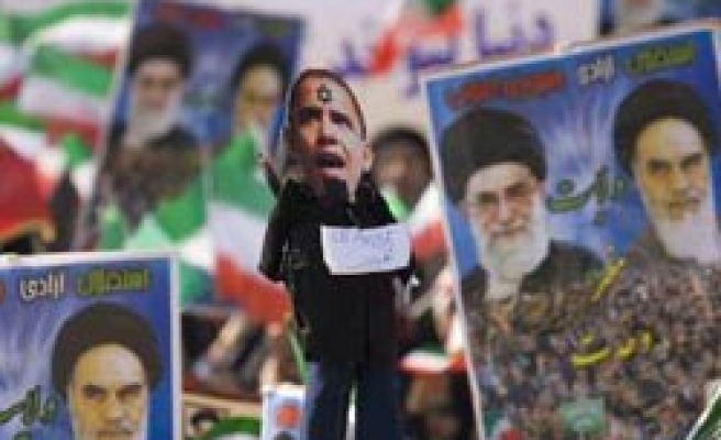Protesters on streets as Iran marks Revolution Day