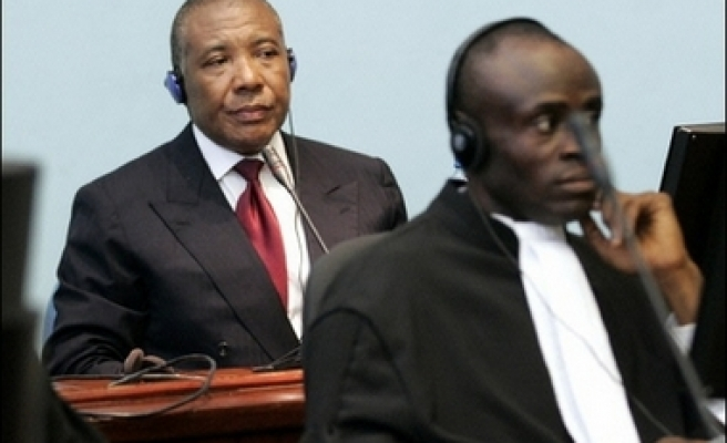 Trial of former Liberian president to resume in Hague