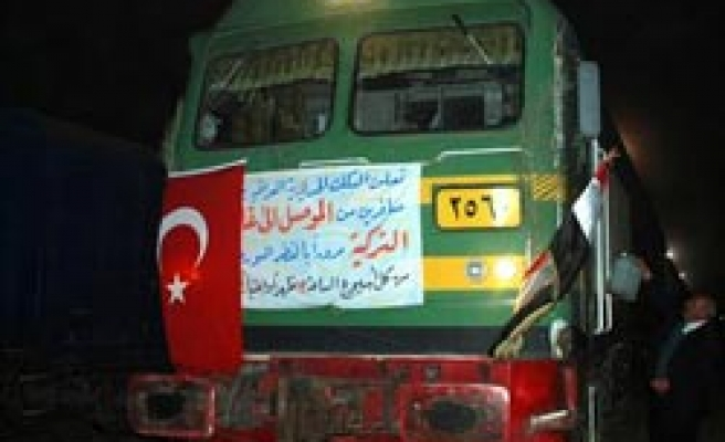 First passenger train from Iraq arrives in Turkey