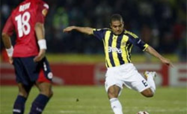 Turkey's Fenerbahce loses 2-1 against French Lille