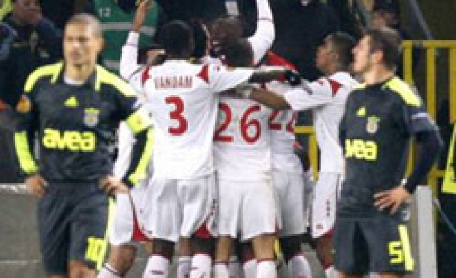 Turkish team draws 1-1 with France's Lille