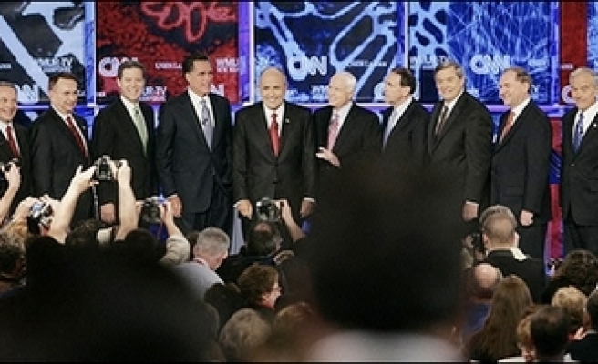 US presidential candidates lack military experience