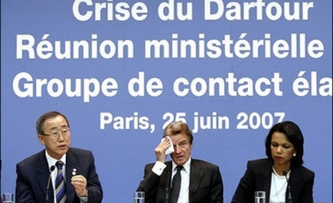 Darfur meeting ends without concrete action