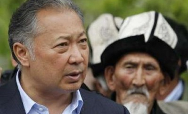 Kyrgyz ex-president gets jail term in absentia