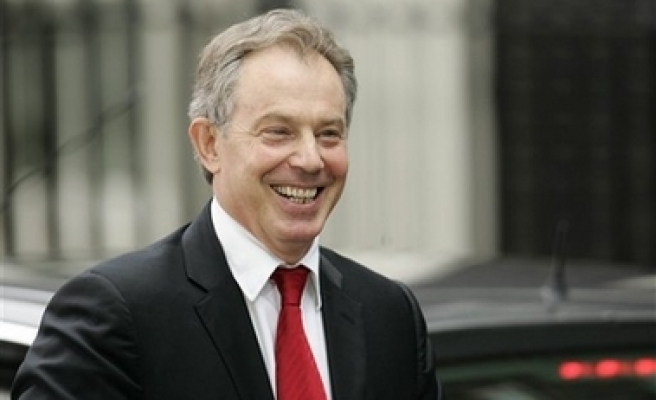Tony Blair named as Middle East special envoy