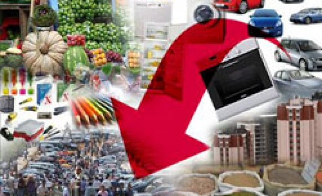 Turkey's consumer, producer prices slightly down in July