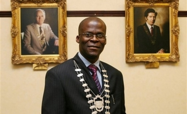Ireland gets its first black mayor