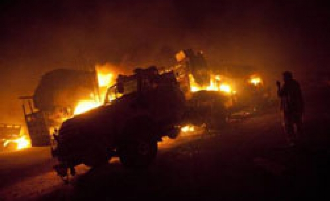 Trucks at Colombia's biggest coal exporter blown up