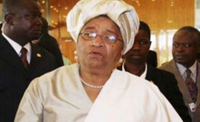 Liberian president appeals to Obama for Ebola help