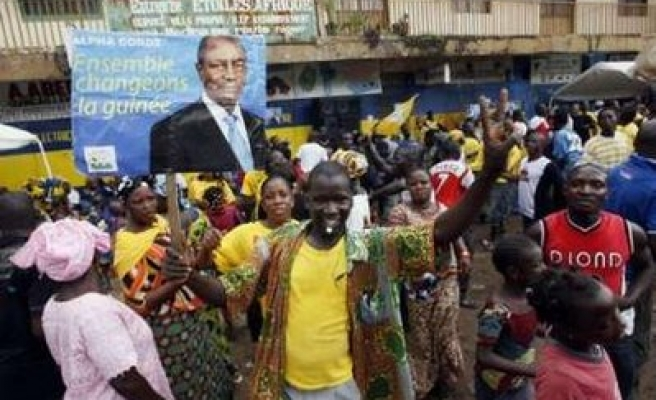 At least one person shot dead in Guinea protest