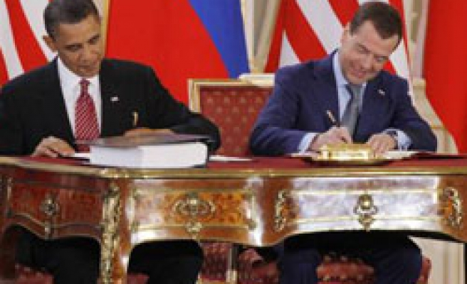Russia says ready to ratify nuclear pact, puts doubt on US side