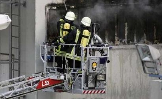 Nuclear-power fire in Germany