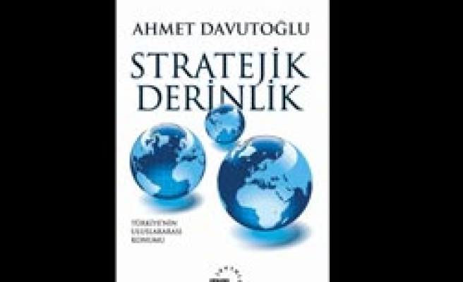 Turkish FM's 'Strategic Depth' among best-selling book in Greece