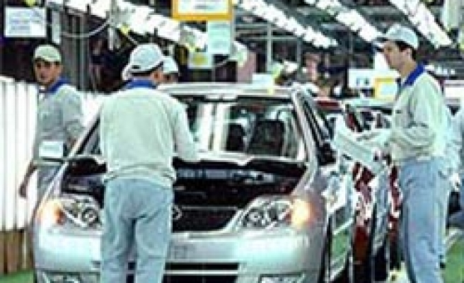 Turkey's automotive production down in January