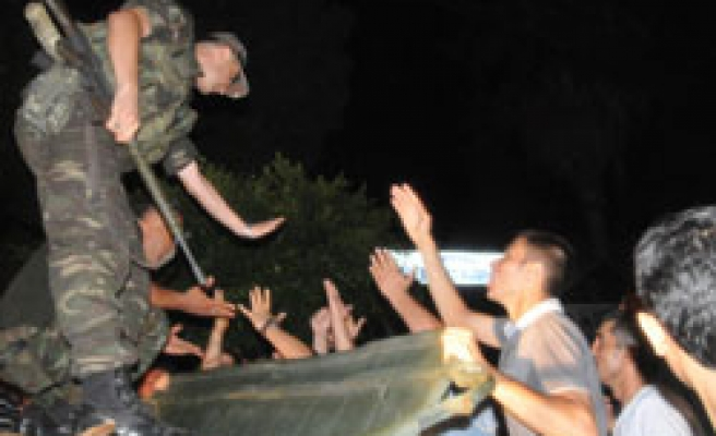 'Deadly PKK attack 'ignites clashes in Turkish city / PHOTO