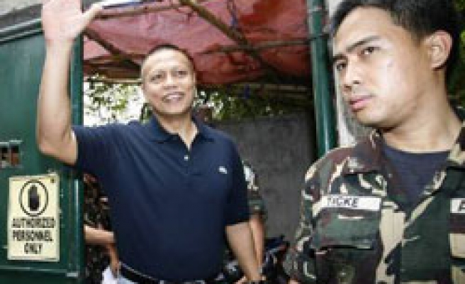 Philippines releases coup plot suspect