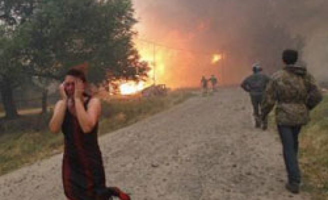 Deaths as forest fires sweep central Russia / PHOTO