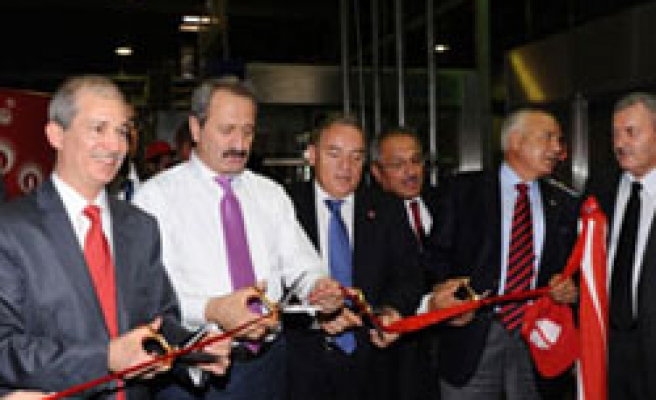 Turkish minister opens shopping mall in Azeri capital