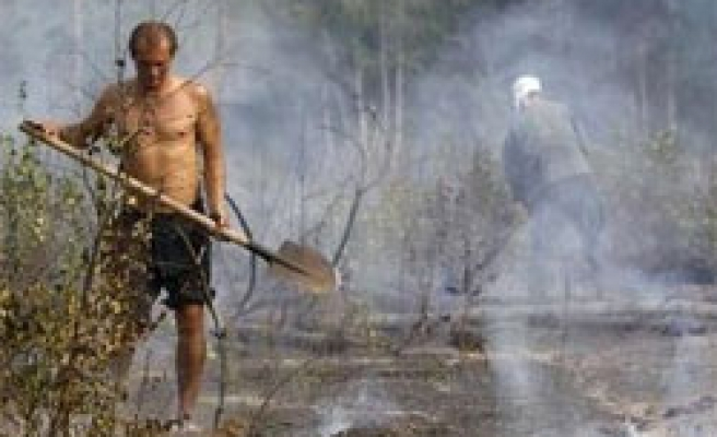 Russians asked to pray for rain as wildfires rage