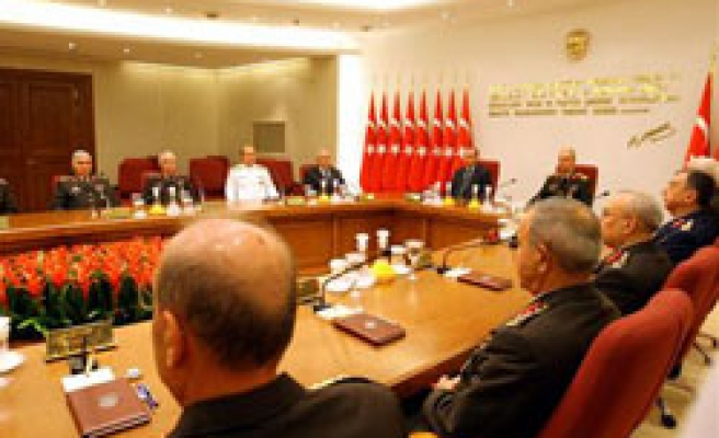 Turkey's YAS debates disputed promotions of coup suspects
