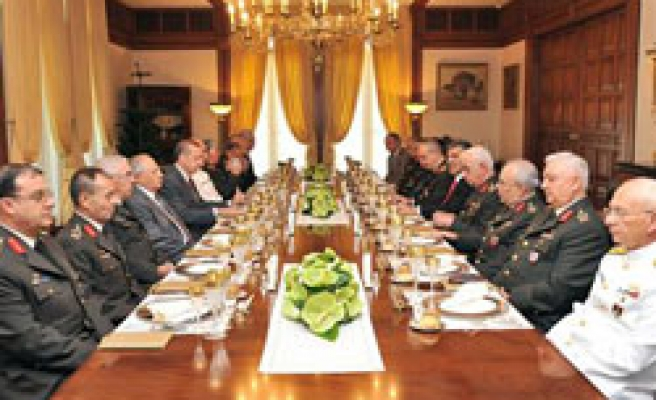 Turkey announces list of promoted military officers