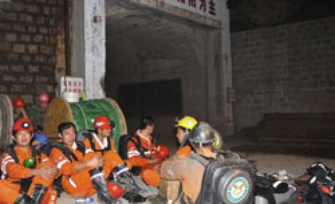Deaths in China gold mine fire