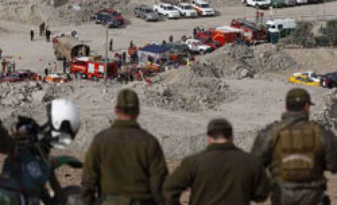 Rescuers slowly approaching trapped Chilean miners