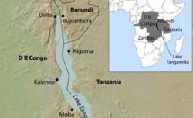 Hundreds feared missing after boat sinks in Lake Tanganyika
