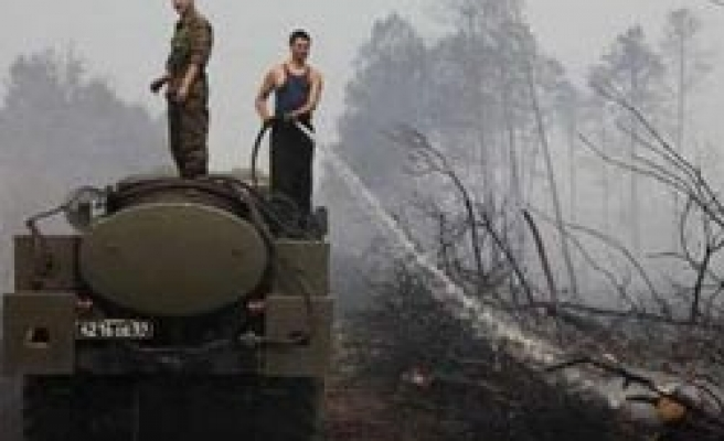Turkey to send firefighting equipments to Russia