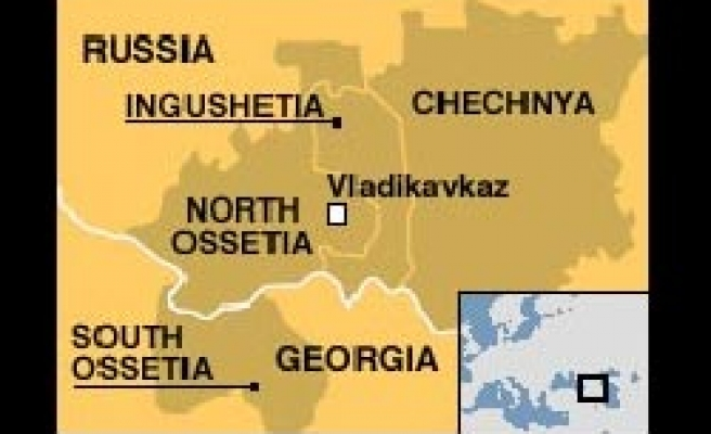 Suicide attack kills Russian police in N. Ossetia