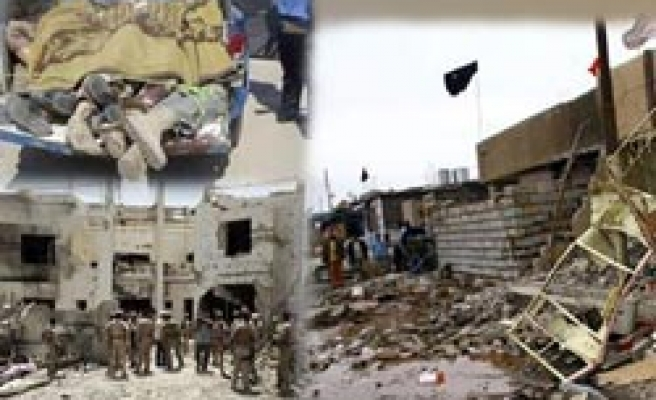Suicide attack on army centre kills scores in Iraq -updated
