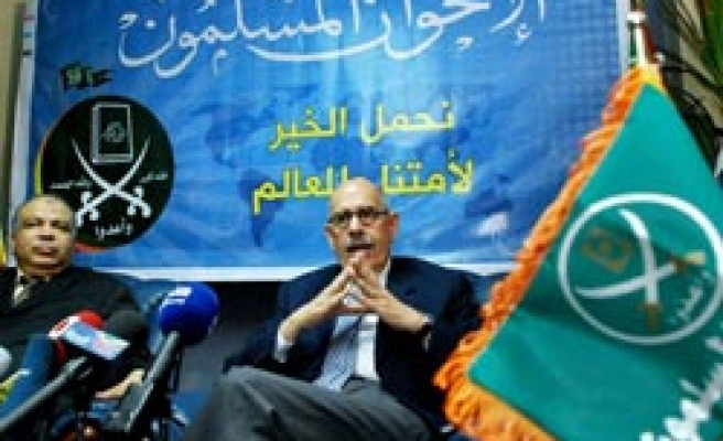 Nearly 1 mln Egyptians back Baradei, Brotherhood campaign