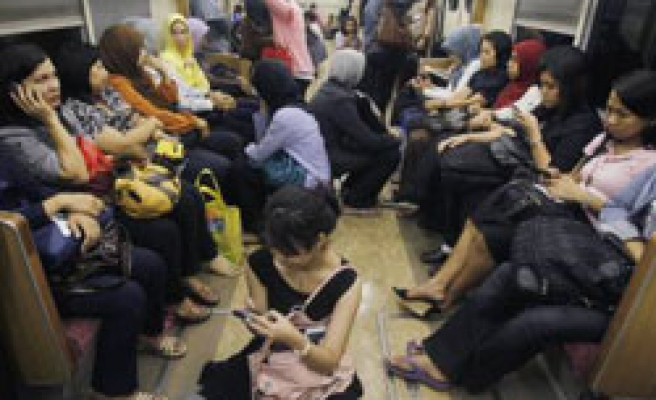 Indonesia's Jakarta offers women-only trains to stop harassment