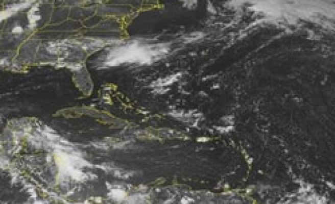 Tropical depression forms in Atlantic, to strengthen