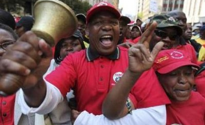S. Africa miners may join state workers' strike