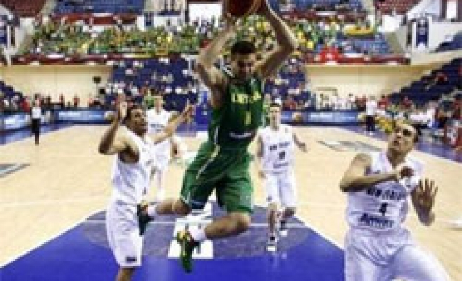 Lithuania beats New Zealand 92-79 in Turkey basketball games