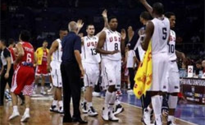 US becomes Group B leader in Turkey FIBA games