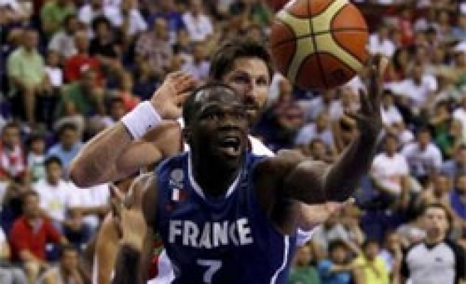 France tops Group D in Turkey FIBA games