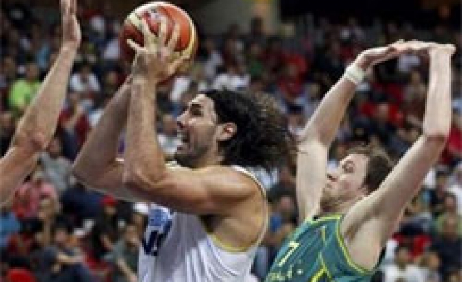 Argentina leader of Group A of FIBA games