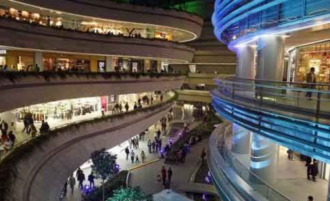 Turnover of retailers in Turkish shopping malls up 10 pct