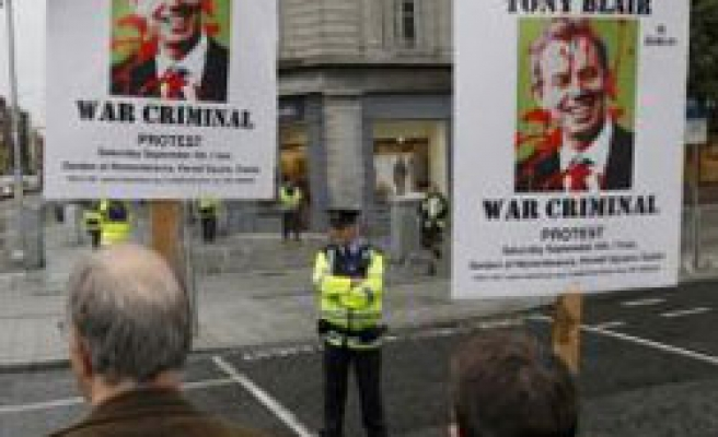 Blair cancels book-signing over Iraq invasion protests
