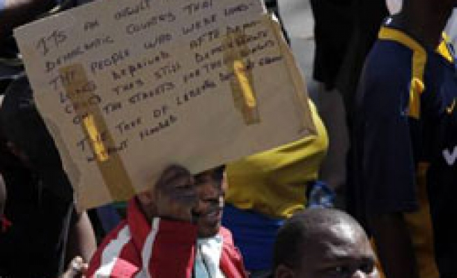 S.Africa unions to decide on first-rejected pay offer Monday