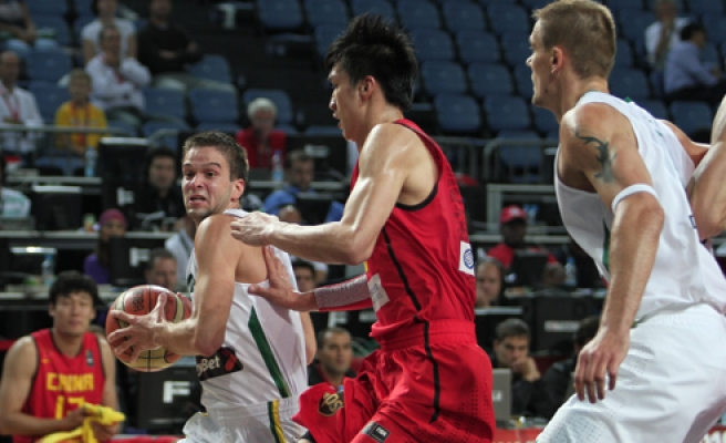 Lithuanian Coach says not pleased with game despite win over China